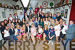 BIG 50: Mandy Clifford Ballyroe, Tralee got such a shock as she arrived at The Oyster Tavern, The Spa, Tralee on saturday night as her family and friendsput on a 50th birthday party for her (Mandy is seatyed 4th from right).