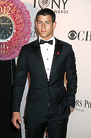 Nick Jonas at the 66th Annual Tony Awards at The Beacon Theatre on June 10, 2012 in New York City. Credit: RW/MediaPunch Inc. NORTEPHOTO.COM