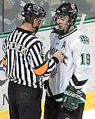 Derek Shepherd, Mike Prpich - The University of Minnesota Golden Gophers defeated the University of North Dakota Fighting Sioux 4-3 on Friday, December 9, 2005, at Ralph Engelstad Arena in Grand Forks, North Dakota.