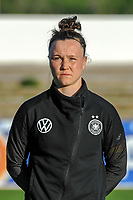 20200307  Lagos , Portugal : German defender Marina Hegering (5) pictured during the female football game between the national teams of Germany and Norway on the second matchday of the Algarve Cup 2020 , a prestigious friendly womensoccer tournament in Portugal , on saturday 7 th March 2020 in Lagos , Portugal . PHOTO SPORTPIX.BE | STIJN AUDOOREN