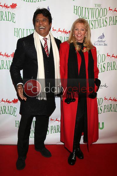 Erik Estrada, Laura McKenzie<br /> at the 85th Annual Hollywood Christmas Parade, Hollywood Boulevard, Hollywood, CA 11-27-16<br /> David Edwards/DailyCeleb.com 818-249-4998