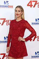 "LOS ANGELES - JUN 12:  Claire Holt at the ""47 Meters Down"" Premiere at the Village Theater on June 12, 2017 in Westwood, CA"