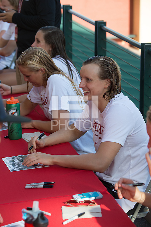 Stanford, CA; Saturday November 12, 2016;  Woman's Swimming vs Texas