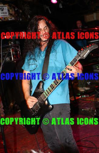 Type O Negative; CBGB , New York City, On 6-14-2003<br /> Photo Credit: Eddie Malluk/Atlas Icons.com