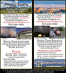 RMNP printed flier, Rocky Mountain National Park photo tours, Colorado Photo Tours, Colorado Private Tours,