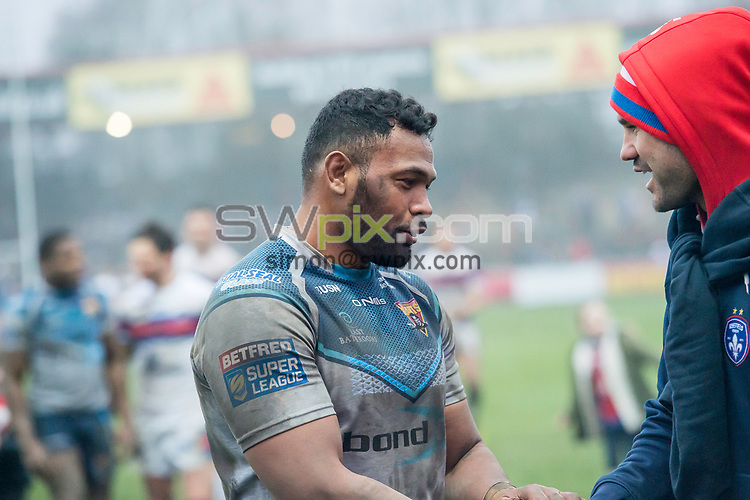 Picture by Allan McKenzie/SWpix.com - 04/03/2018 - Rugby League - Betfred Super League - Wakefield Trinity v Huddersfield Giants - The Mobile Rocket Stadium, Wakefield, England - Ukuma Ta'ai.