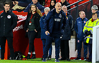 Preston North End manager Alex Neil shouts instructions to his team from the technical area<br /> <br /> Photographer Alex Dodd/CameraSport<br /> <br /> The EFL Sky Bet Championship - Middlesbrough v Preston North End - Wednesday 13th March 2019 - Riverside Stadium - Middlesbrough<br /> <br /> World Copyright &copy; 2019 CameraSport. All rights reserved. 43 Linden Ave. Countesthorpe. Leicester. England. LE8 5PG - Tel: +44 (0) 116 277 4147 - admin@camerasport.com - www.camerasport.com