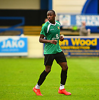 Gainsborough Trinity's Jonathan Wafula<br /> <br /> Photographer Andrew Vaughan/CameraSport<br /> <br /> Pre-Season Friendly - Gainsborough Trinity v Lincoln City - Saturday 15th July 2017 - The Gainsborough Martin &amp; Co Arena - Gainsborough<br /> <br /> World Copyright &copy; 2017 CameraSport. All rights reserved. 43 Linden Ave. Countesthorpe. Leicester. England. LE8 5PG - Tel: +44 (0) 116 277 4147 - admin@camerasport.com - www.camerasport.com
