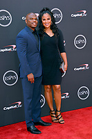 Laila Ali &amp; Curtis Conway at the 2018 ESPY Awards at the Microsoft Theatre LA Live, Los Angeles, USA 18 July 2018<br /> Picture: Paul Smith/Featureflash/SilverHub 0208 004 5359 sales@silverhubmedia.com