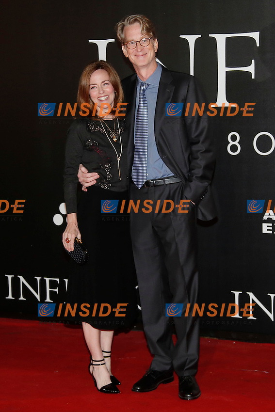 David Koepp and his wife<br /> Firenze 08-10-2016. 'Inferno' Anteprima Mondiale.<br /> Florence 8th October 2016. 'Inferno' World Premiere.<br /> Foto Samantha Zucchi Insidefoto