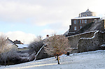 Millmount, Drogheda in Snow....Photo NEWSFILE/Jenny Matthews.(Photo credit should read Jenny Matthews/NEWSFILE)....This Picture has been sent you under the condtions enclosed by:.Newsfile Ltd..The Studio,.Millmount Abbey,.Drogheda,.Co Meath..Ireland..Tel: +353(0)41-9871240.Fax: +353(0)41-9871260.GSM: +353(0)86-2500958.email: pictures@newsfile.ie.www.newsfile.ie.FTP: 193.120.102.198.