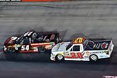 #54: Riley Herbst, DGR-Crosley, Toyota Tundra Advance Auto Parts / Terrible Herbst / NOS / ORCA, #20: Tanner Thorson, Young's Motorsports, Chevrolet Silverado Ohio Logistics