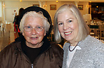 SOUTHINGTON CT. 06 June 2017-060617SV20-From left, Sister Patricia Glass of Meriden and Rosa Gatti of Norwalk attend The 32nd Annual Franciscan Sports Banquet &amp; Silent Auction at the Aqua Turf in Southington Tuesday.<br /> Steven Valenti Republican-American