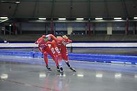 SCHAATSEN: IJSSTADION THIALF: 11-06-2013, Training zomerijs, Gianni Romme, ©foto Martin de Jong