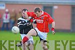 St Pat's Derek O'Sullivan and Ardfert's Stephen Wallace.   Copyright Kerry's Eye 2008