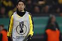 "Shinji Kagawa (Dortmund), FEBRUARY 8, 2017 - Football / Soccer : German ""DFB Pokal"" 3rd round match between Borussia Dortmund 1-1 Hertha BSC at the Signal Iduna Park in Dortmund, Germany. (Photo by Mutsu Kawamori/AFLO) [3604]"