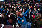 A fan taking a selfie as the players make their way onto the pitch before Burnley hosted Everton in an English Premier League fixture at Turf Moor. Founded in 1882, Burnley played their first match at the ground on 17 February 1883 and it has been their home ever since. The visitors won the match 5-1, watched by a crowd of 21,484.