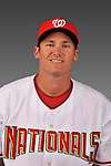 14 March 2008: ..Portrait of Samuel Marsonek, Washington Nationals Minor League player at Spring Training Camp 2008..Mandatory Photo Credit: Ed Wolfstein Photo