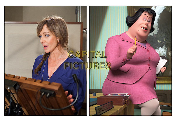 Allison Janney (voice of Ms. Grunion)<br /> on the set of Mr. Peabody &amp; Sherman (2014) <br /> *Filmstill - Editorial Use Only*<br /> CAP/FB<br /> Image supplied by Capital Pictures