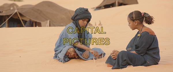 Mehdi AG Mohamed and Layla Walet Mohamed<br /> in Timbuktu (2014) <br /> *Filmstill - Editorial Use Only*<br /> CAP/FB<br /> Image supplied by Capital Pictures