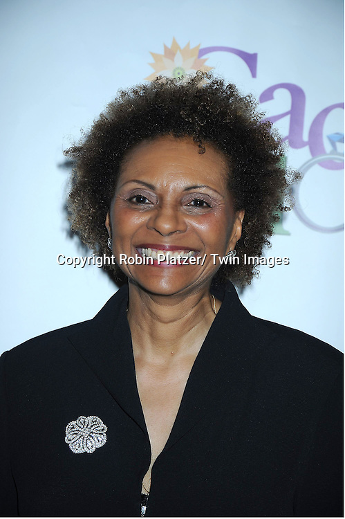 "Leslie Uggams attending the Opening night party for .""Cactus Flower"" on March 10, 2011 at B Smith's Restaurant. The show stars Lois Robbins, Maxwell Caulfield and Jenni Barber."