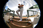 Oklahoma City Dodgers&rsquo; Joc Pederson enters the dugout between innings at Greater Nevada Field in Reno, Nev., on Sunday, July 17, 2016.<br />Photo by Cathleen Allison