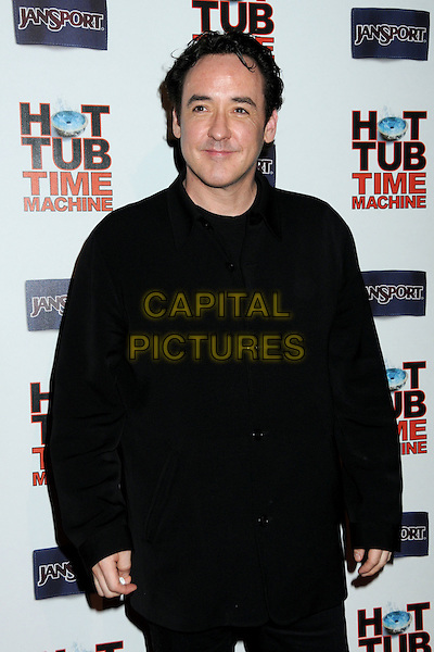 "JOHN CUSACK.""Hot Time Time Machine"" World Premiere Party held at the Cabana Club, Hollywood, California, USA..March 17th, 2010.half length black coat jacket .CAP/ADM/BP.©Byron Purvis/AdMedia/Capital Pictures."