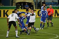 Sebastian Rudy (D) gegen Oshri Roash (ISR)<br /> U21 Deutschland vs. Israel *** Local Caption *** Foto ist honorarpflichtig! zzgl. gesetzl. MwSt. Auf Anfrage in hoeherer Qualitaet/Aufloesung. Belegexemplar an: Marc Schueler, Alte Weinstrasse 1, 61352 Bad Homburg, Tel. +49 (0) 151 11 65 49 88, www.gameday-mediaservices.de. Email: marc.schueler@gameday-mediaservices.de, Bankverbindung: Volksbank Bergstrasse, Kto.: 151297, BLZ: 50960101