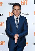 09 September 2017 - Toronto, Ontario Canada - Ben Stiller. 2017 Toronto International Film Festival - &quot;Brad's Status&quot; Premiere held at Winter Garden Theatre. <br /> CAP/ADM/BPC<br /> &copy;BPC/ADM/Capital Pictures
