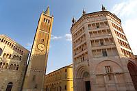 Baptistry and Duomo - Piazza Del Duomo - Palma Italy.