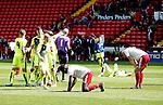 Dejection for Sheffield Utd U21 players during the PDL U21 Final at Bramall Lane Sheffield. Photo credit should read: Simon Bellis/Sportimage