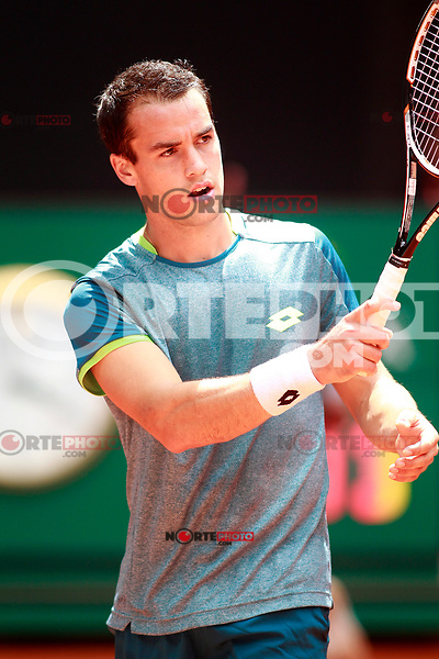 Nicolas Kicker, Argentina, during Madrid Open Tennis 2018 match. May 7, 2018.(ALTERPHOTOS/Acero) /NortePhoto.com