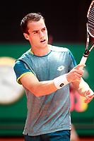 Nicolas Kicker, Argentina, during Madrid Open Tennis 2018 match. May 7, 2018.(ALTERPHOTOS/Acero) /NortePhoto.com