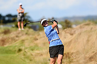 Emily Stenhouse. Day One of the Toro NZ Speed Golf Open,  Windross Farm Golf Course, Auckland, New Zealand. Saturday 24 February 2018. Photo: Simon Watts/www.bwmedia.co.nz