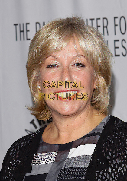 CAROL MENDELSOHN.PaleyFest: Fall2010 TV Preview CBS Party  held at The Paley Center for Media, Beverly Hills, California, USA, 10th September..portrait headshot smiling black grey gray .CAP/ADM/TC.©T. Conrad/AdMedia/Capital Pictures.