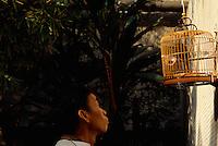 China, Hongkong-Mongkok, Vogelmarkt