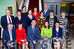 Killarney INTO teachers who celebrated their retirement in the Dromhall Hotel on Saturday night front row l-r: Sean McDermott St Olivers, Eilis Mahony Lissivigeen, John Boyle INTO General Secretary, Patricia Sheehan-O'Donoghue Knockaderry, Back rowJuliette Kelly St Olivers, Brid Farrell holy Cross, Evelyn Curtis St John NS Kenmare, Therese O'Donoghue St Johns Kenmare, Joan Foley Loreto NS, Mary O'Sullivan Knockaderry, Back row: Anne Horam Joseph Doncel and Denis O'Sullivan all INTO