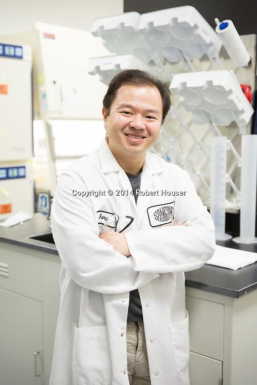 Portrait of Gary Lee - Sangamo BioSciences