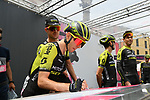 Simon Yates (GBR) and Mitchelton-Scott sign on before Stage 10 of the 2019 Giro d'Italia, running 145km from Ravenna to Modena, Italy. 21st May 2019<br /> Picture: Gian Mattia D'Alberto/LaPresse | Cyclefile<br /> <br /> All photos usage must carry mandatory copyright credit (© Cyclefile | Gian Mattia D'Alberto/LaPresse)