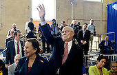 Former United States Secretary of State Colin L. Powell and his wife, Alma, attend an event at Benjamin Banneker Academic High School to highlight the progress that has been made by the Obama Administration over the last eight years to improve education across the country on October 17, 2016 in Washington, DC. <br /> Credit: Olivier Douliery / Pool via CNP