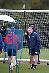 French TV crew at training today as the worldwide interest in Rangers continues
