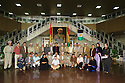 Iraq 2007.Members of the Barzani family who lost relatives during Anfal campaign,visiting the Kurdish parliament in Erbil.Irak 2007.Des membres de la famille Barzani ayant perdus des parents, victimes de l'Anfal, visitent le parlement kurde a Erbil.