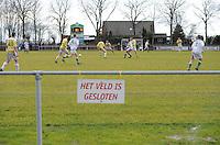 VOETBAL: WARGA: 22-12-2013, VV Warga - VV Geel Wit, uitslag 2-4, ©foto Martin de Jong
