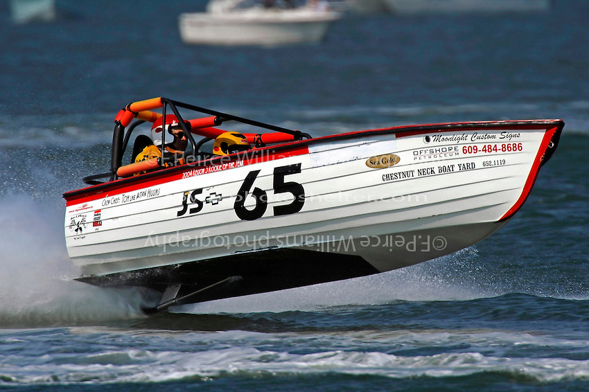 "Warren Brown, JS-65 ""KISS""   (Jersey Speed Skiff(s)"