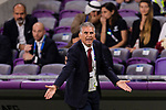 Iran Head Coach Carlos Quieroz gestures during the AFC Asian Cup UAE 2019 Semi Finals match between I.R. Iran (IRN) and Japan (JPN) at Hazza Bin Zayed Stadium  on 28 January 2019 in Al Alin, United Arab Emirates. Photo by Marcio Rodrigo Machado / Power Sport Images
