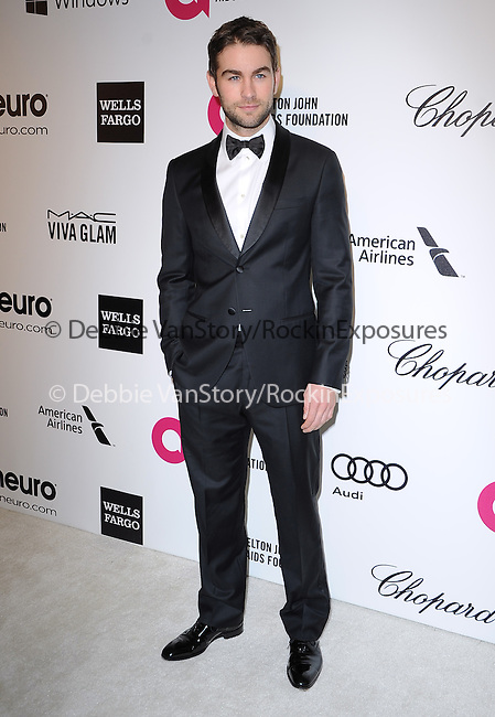 Chace Crawford attends the 2014 Elton John AIDS Foundation Academy Awards Viewing Party in West Hollyood, California on March 02,2014                                                                               © 2014 Hollywood Press Agency
