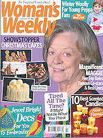 Woman's Weekly  <br /> 17 November 2015<br /> Maggie Smith<br /> cover main photo<br /> CAP/PL
