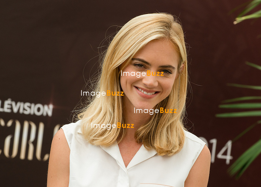 """Emily Wickersham """"NCIS"""" attends photocall at the Monte Carlo Beach Hotel on June 10, 2014 in Monte-Carlo, Monaco."""