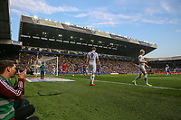 Play continues in the closing stages<br /> <br /> Photographer Alex Dodd/CameraSport<br /> <br /> The EFL Sky Bet Championship - Leeds United v Bolton Wanderers - Saturday 23rd February 2019 - Elland Road - Leeds<br /> <br /> World Copyright © 2019 CameraSport. All rights reserved. 43 Linden Ave. Countesthorpe. Leicester. England. LE8 5PG - Tel: +44 (0) 116 277 4147 - admin@camerasport.com - www.camerasport.com