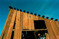 Old barn, 1987.   &amp;#xA;<br />